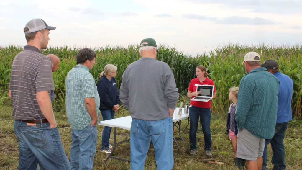 Wisconsin farmer uses lysimeters to help understand nitrate movement